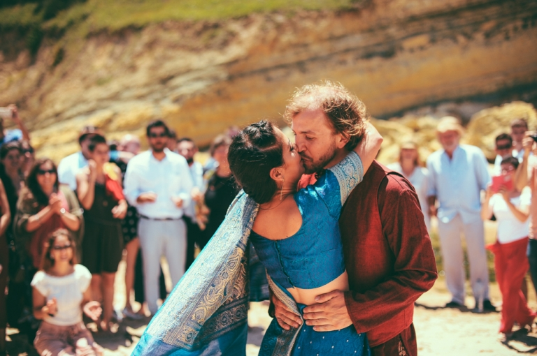 Alternative European Wedding With Indian Inspiration Sofia And